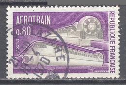 France YT N°1631 Aérotrain Oblitéré °
