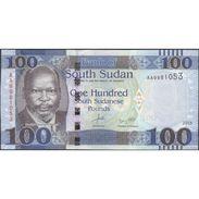 TWN - SOUTH SUDAN 10b - 100 Pounds 2015 Prefix AA UNC - Sudan Del Sud