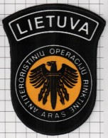 Ecusson. Patch. Toppa. Parche. Police. Europe. EU. SWAT. Lithuania N Police Anti-terrorist Operations Unit ARAS - Police