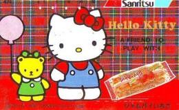 Télécarte Japon HELLO KITTY (791) BD COMICS * CAT * CAT * CHAT * Katze PHONECARD JAPAN * TELEFONKARTE - Comics