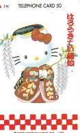 Télécarte Japon HELLO KITTY (792) BD COMICS * CAT * CAT * CHAT * Katze PHONECARD JAPAN * TELEFONKARTE - Comics