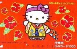 Télécarte Japon HELLO KITTY (796) BD COMICS * CAT * CAT * CHAT * Katze PHONECARD JAPAN * TELEFONKARTE - Comics