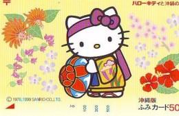 Télécarte Japon HELLO KITTY (797) BD COMICS * CAT * CAT * CHAT * Katze PHONECARD JAPAN * TELEFONKARTE - Comics