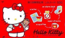 Télécarte Japon HELLO KITTY (798) BD COMICS * CAT * CAT * CHAT * Katze PHONECARD JAPAN * TELEFONKARTE - Comics