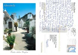 Alberobello, BA Bari, Italy Postcard Posted 2010 Stamp - Bari