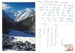 Gran Paradiso, Val D'Aosta , Italy Postcard Posted 2000 Stamp - Aosta