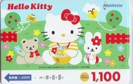 Carte Prépayée  Japon * HELLO KITTY (849) BD COMICS * CAT * CAT * CHAT * Katze PREPAIDCARD JAPAN * KARTE - Fumetti
