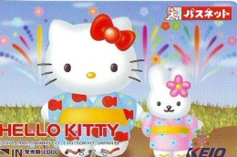 Carte Prépayée  Japon * HELLO KITTY (853) BD COMICS * CAT * CAT * CHAT * Katze PREPAIDCARD JAPAN * KARTE - BD