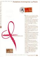 """(Prix à La Poste = 5.00 €) Document Officiel De 2006 N° 21 06 540  : """" FONDATION D'ENTREPRISE LA POSTE """" N° YT 3934. DPO - Documents Of Postal Services"""