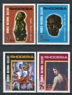 Rhodesia 1967. Yvert 154-57 ** MNH. - Rodesia (1964-1980)