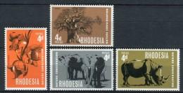 Rhodesia 1967. Yvert 158-61 ** MNH. - Rhodesien (1964-1980)