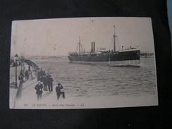 F Le Havre Hafen , Schiff 1912 - Handel