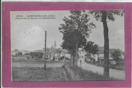 54.- SAINT-POLE .- Panorama Et Route De Badonviller - Francia