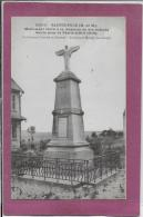54.- SAINT-POLE .- Monument élevé  à La Mémoire De Ses Enfants - Frankreich