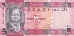 SOUTH SUDAN 5 POUND 2015 P- New UNC */* - South Sudan