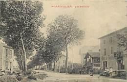 -ref-N765- Meurthe Et Moselle - Marainviller - Cafe De Lorraine - Cafes - Publicite Absinthe Berger - Alcool - - Altri Comuni