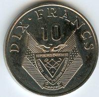 Rwanda 10 Francs 1985 UNC KM 14.2 - Rwanda