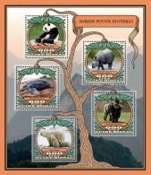GUINEA BISSAU 2016 - Endangered Animals, Gorilla. Official Issue - Gorilles