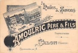 13 - BOUCHES DU RHONE / Salon De Provence - Huiles Et Savons - Maison Amoulric - Salon De Provence