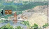 GHANA TELECOM 150 UNITES UNITS BARRAGE DIGA  AKOSOMBO DAM HYDROELECTRIC POWER STATION - Ghana