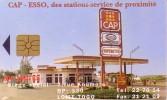 TOGO TELECOM 1998 CAP ESSO STATION ESSENCE PETROL STATION SUPERETTE STAZIONE SERVIZIO BENZINA - Petrole