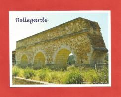 Nouvelle Carte De Bellegarde Gard L'Aqueduc - Bellegarde