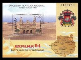 ESPAÑA 1994 - EXPOSICION FILATELICA EXFILNA´94  - Edifil Nº  3313 - 1991-00 Unused Stamps