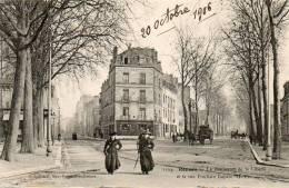CPA - RENNES (35) - Aspect Du Carrefour De La Rue Poullain Duparc Et Du Boulevard De La Liberté En 1906 - Rennes