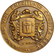 VENEZUELA. MEDALLA CONMEMORATIVA CUATRICENTENARIO FUNDACION DE LA CIUDAD DE MÉRIDA. 1.958 - Profesionales / De Sociedad