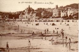 CPA Le Havre (76) - Perspective De La Plage - Animé - Le Havre