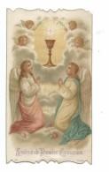 IMAGE PIEUSE.. Communion De André CAILLAT, Chapelle De Mongré à VILLEFRANCHE Sur SAONE (69), En 1910 - Devotieprenten