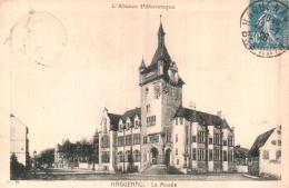 67 HAGUENAU LE MUSEE CIRCULEE 1926 - Haguenau