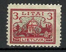 LITAUEN Lithuania 1923 Michel 194 * - Lithuania