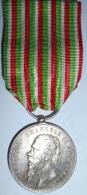 Médaille Pour L´indépendance Et L´unité De L´Italie 1859 - Médailles & Décorations
