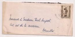 BRIEF LETTRE COB 617 ANTWERPEN - Briefe U. Dokumente