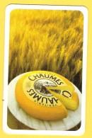 Dos De Carte : Chaumes, Fromage, Cheese, Kaas - Cartes à Jouer Classiques