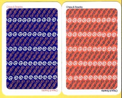 2 Dos De Carte : Smiths Chips - Cartes à Jouer Classiques