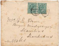 GRAN BRETAGNA -  HALF PENNY - Lettera Spedita Il 8 Gennaio 1903 E Arrivata A Llandudno Il 9 Gennaio - Storia Postale