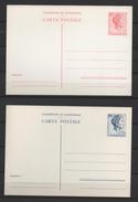 Luxemburg / Ganzsachen - 2 Postkarten 135 + 136 Aus Luxemburg Von 1963 - Charlotte 2 + 3,50 Luf - Postwaardestukken