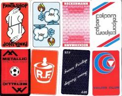 Lot De 16 Dos De Carte - Cartes à Jouer Classiques