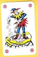 Joker : Lot De 20 Jokers étoiles Rouges (dos Classiques) - Cartes à Jouer Classiques