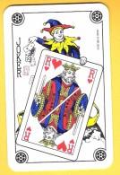 Joker : Lot De 25 Jokers Avec Roi De Coeur (dos Classiques) - Cartes à Jouer Classiques