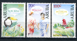 1991 - ARUBA - Catg.. Mi. 100/102 - NH - (AD85348.16) - Curaçao, Antilles Neérlandaises, Aruba