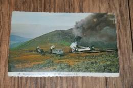 4- Mt. Washington Cog Railway Mt. Washington, N.H. - Other Topics