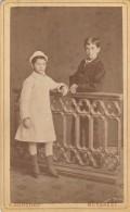 Romania - Bucuresti - 1880 - Foto Franz Duschek - 65x105mm - Antiche (ante 1900)