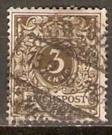 ALLEMAGNE    -   1889 .   Y&T N° 45 Oblitéré. - Deutschland