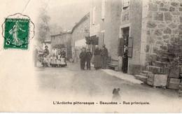 BEAUVENE  -  Rue Principale - France