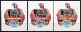 Tonga - Service Aérien - 1980 - Yvert N° 158 à 160 **  - Jeux Olympiques De Moscou - Tonga (1970-...)