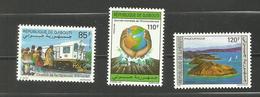 Djibouti N° 680 à 682 Neuf** Cote 7 Euros - Yibuti (1977-...)