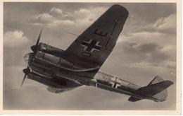 Germany 1943 WWII Junkers Ju 88 Mailed Feldpost Censored RPPC III - Guerra 1939-45